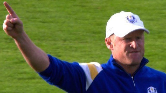 Jamie Donaldson BBC Sport Ryder Cup 2014 Jamie Donaldson reflects on