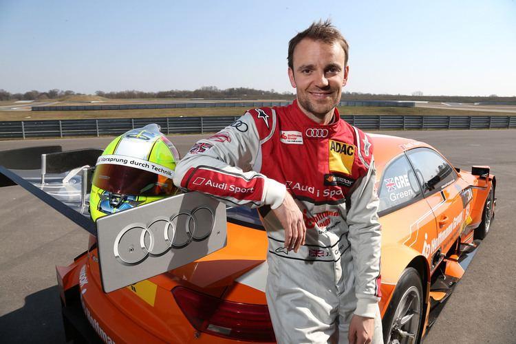 Jamie Green Audi RS 5 DTM driver Jamie Green prepares for 2015 DTM season MOTRFACE
