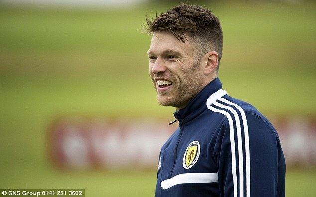 Jamie Mackie Jamie Mackie I want to be Scotland39s main striker Daily