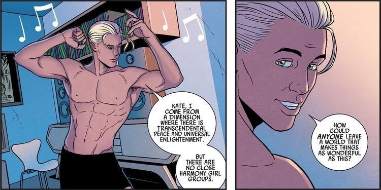 Jamie McKelvie Kieron Gillen and Jamie McKelvie to Leave Young Avengers