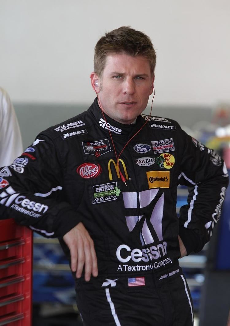 Jamie McMurray Jamie McMurray loves sports car racing but not the noise