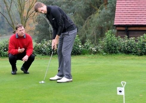 Jamie Moul Video Pro golfer Jamie Moul faces our man Mike Ipswich Town FC
