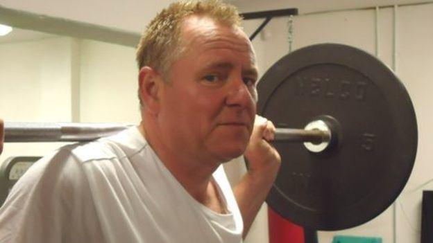 Jamie Owen BBC Wales presenter Jamie Owen39s fat at 40plus challenge