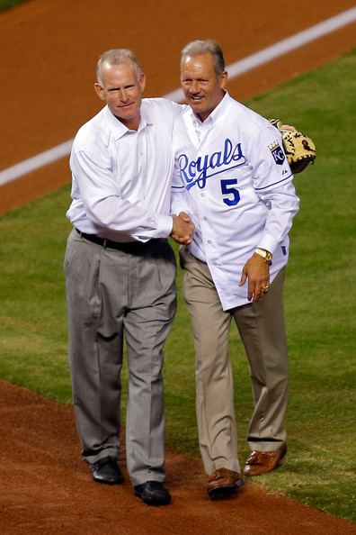 Jamie Quirk Jamie Quirk and George Brett Photos Photos Zimbio