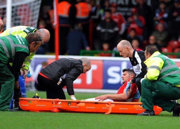 Jamie Sendles-White Swindon Town defender Jamie SendlesWhite undergoes second operation