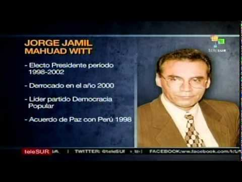 Jamil Mahuad Perfil de ex presidente Jorge Jamil Mahuad Witt YouTube