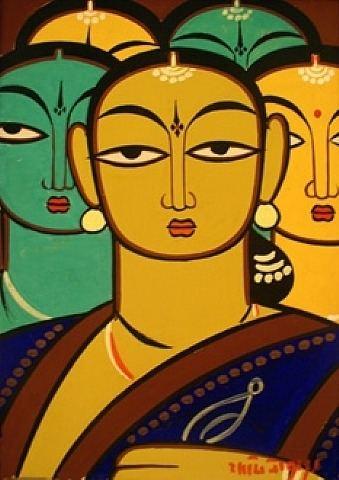 Jamini Roy Jamini Roy Visions of India Madam Meow Holly Gaboriault