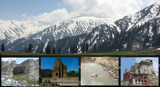 Jammu and Kashmir Tourist places in Jammu and Kashmir