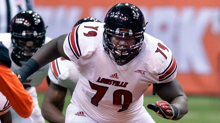 Jamon Brown St Louis Rams beef up oline with thirdround selection