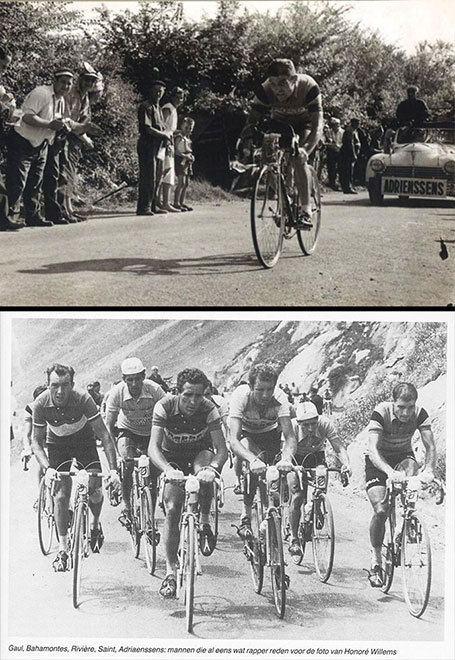 Jan Adriaensens In het wiel van Eddy Merckx Cesar Jan Adriaensens Strong Jan