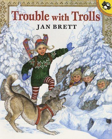 Jan Brett Free activities to go with Trouble with Trolls Free Printables