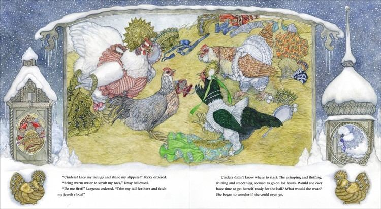 Jan Brett Childrens Author And Illustrator Combs Chickens For Inspiration