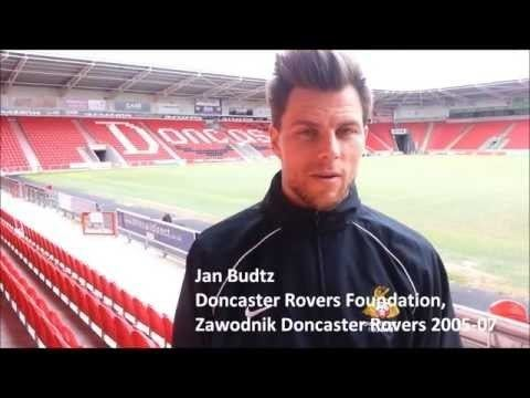 Jan Budtz Jan Budtz from Doncaster Rovers Foundation promotes