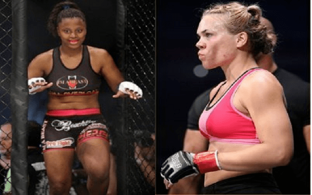 Jan Finney IT Fight Series 38s Jan Finney and Allanna Jones have both faced
