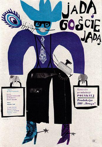 Jan Lenica Jan Lenica Illustration and Art Little Owl Ski