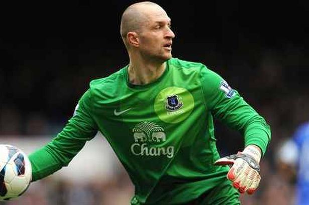 Jan Mucha Jan Mucha playing for Everton FC future and new deal says