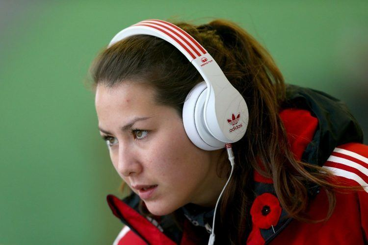 Jane Channell Canadian skeleton racer Channell finds comfort after tragedy