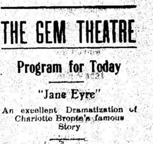 Jane Eyre (1910 film) Jane Eyre (1910 film)