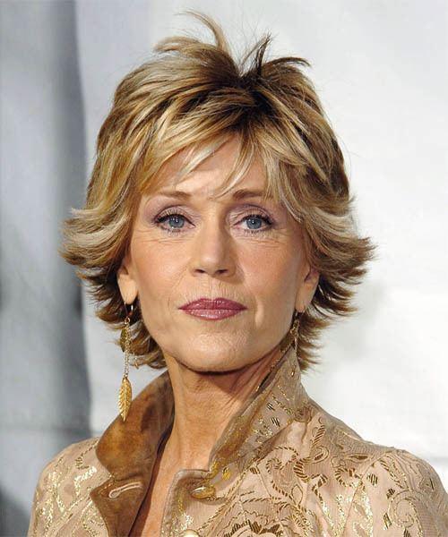 Jane Fonda Jane Fonda Hairstyles Celebrity Hairstyles by