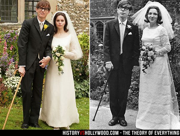 Jane Hawking Theory of Everything vs True Story of Stephen and Jane