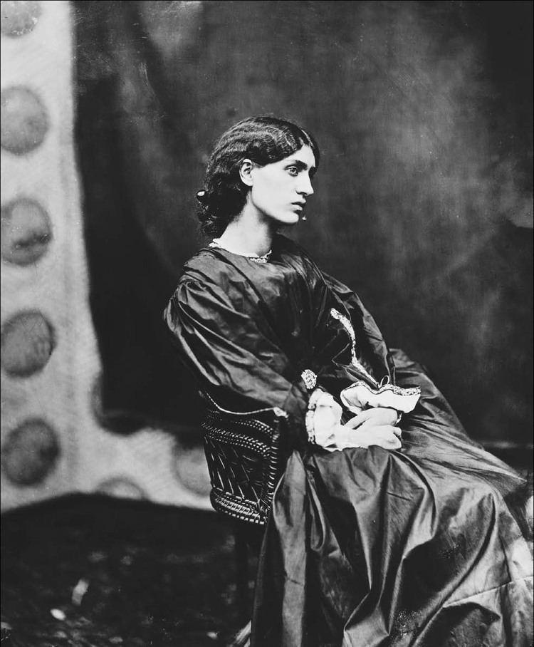 Jane Morris Jane Morris by John Robert Parsons 1865 Porcelainista