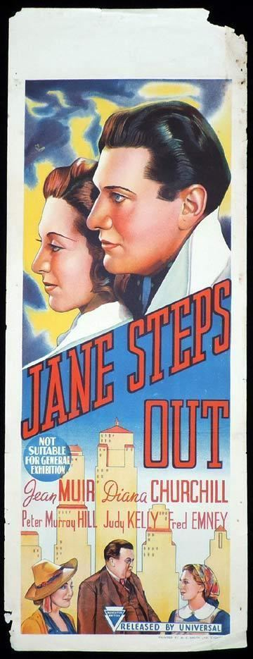 Jane Steps Out JANE STEPS OUT Long Daybill Movie poster 1938 Diana Churchill