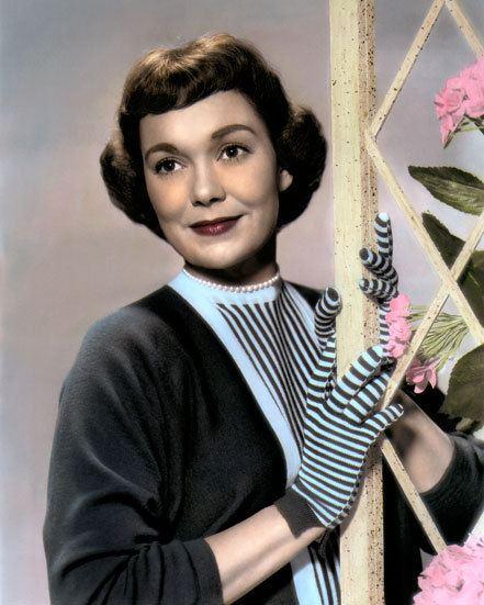 Jane Wyman Jane Wyman Hollywood Movie Star Actress 8x10 Hand Color Tinted