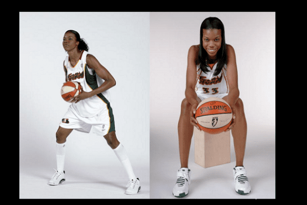 Janell Burse LEGENDS SPOTLIGHT JANELL BURSE National Basketball Retired