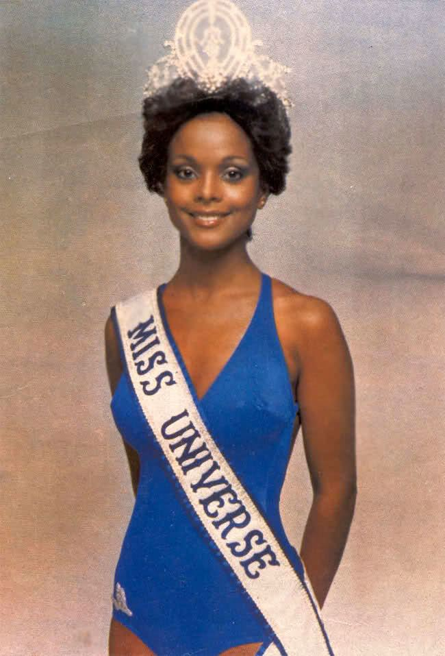 Janelle Commissiong First black Miss Universe