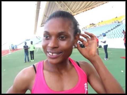 Janet Amponsah Rio 2016 Janet Amponsah clocks 2299s09 in womens 200m YouTube