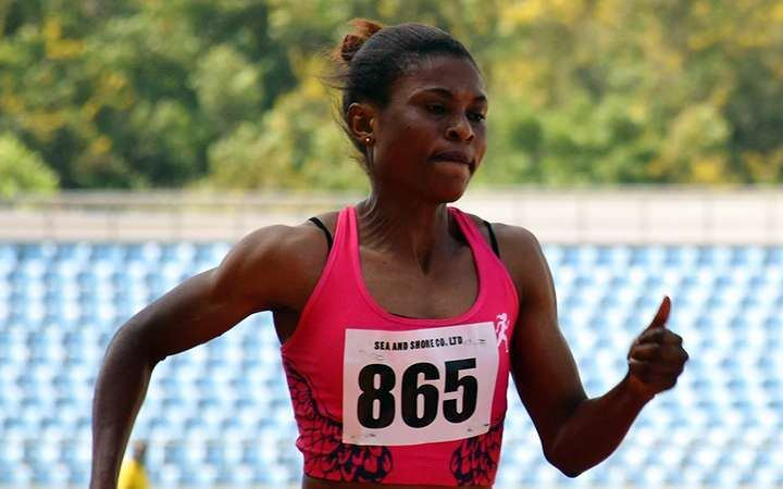 Janet Amponsah Rio Olympic Games Janet Amponsah drops out in womens 200m race