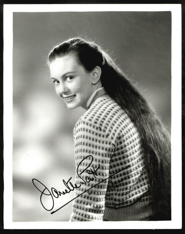 Janette Scott Clickautographs autographs Janette Scott