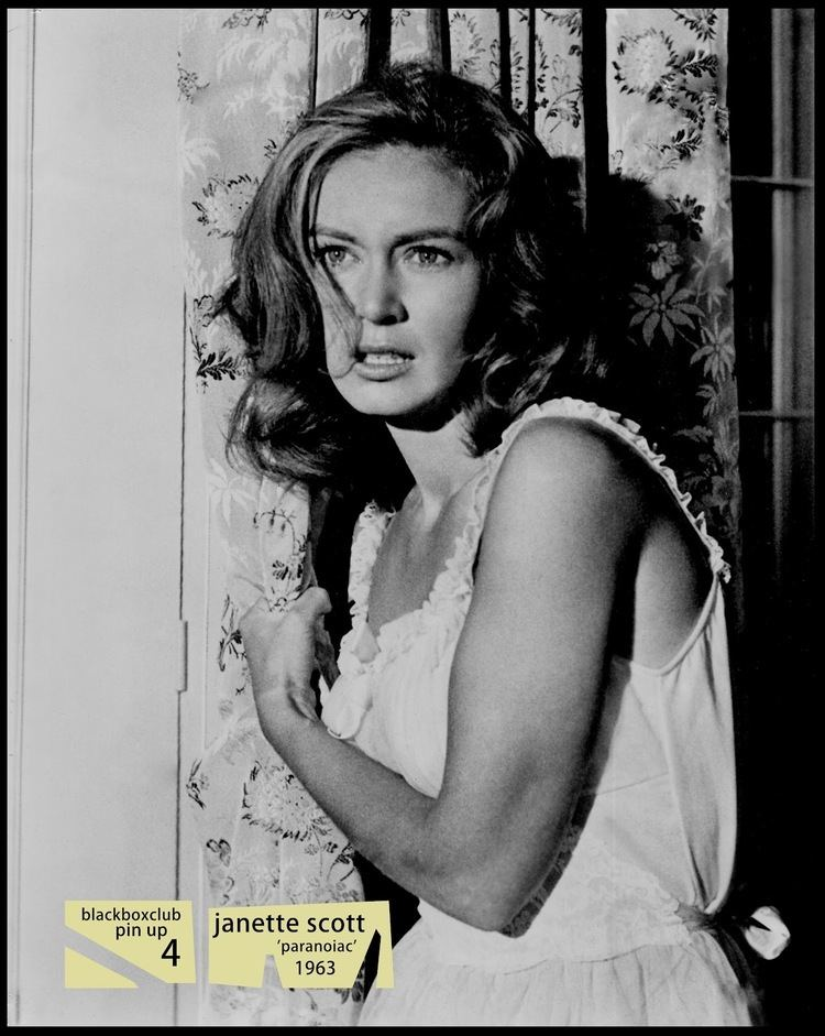 Janette Scott The Black Box Club JANETTE SCOTT 39PARANOIAC39 39TRIFFIDS