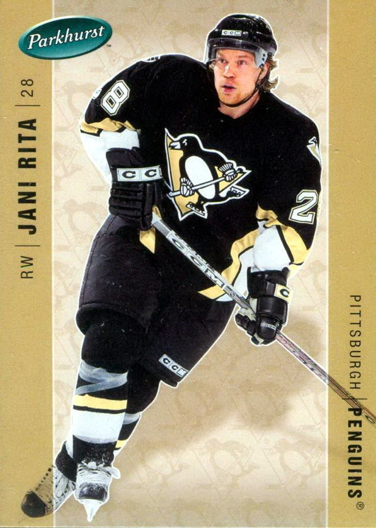 Jani Rita Jani Rita Player39s cards since 2005 2006 penguins
