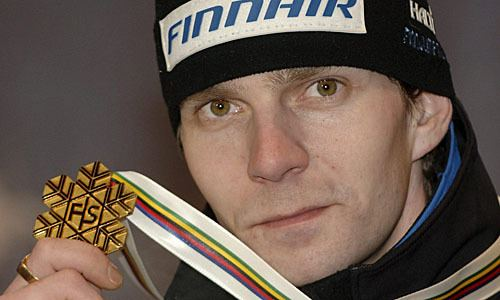 Janne Ahonen Skispringen Janne Ahonen kommt zurck DiePressecom