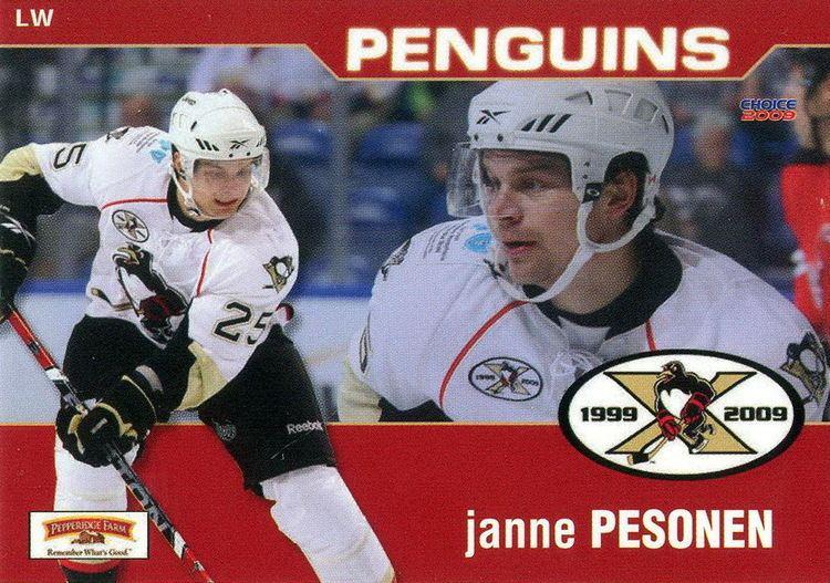 Janne Pesonen Janne Pesonen Players cards since 2008 2009 penguinshockey