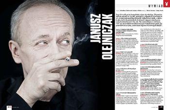 Janusz Olejniczak Janusz Olejniczak Wywiady