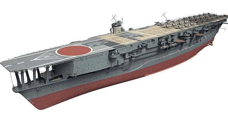 Japanese aircraft carrier Kaga Japanese aircraft carrier Kaga in 3D Kagero Publishing39s book by