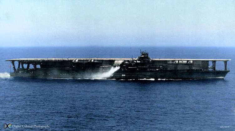 Japanese aircraft carrier Kaga This is the Japanese aircraft carrier Kaga completed in 1928 She