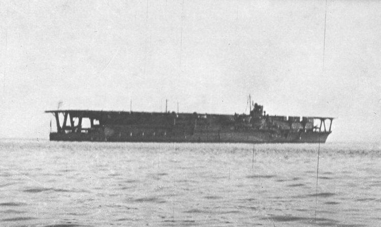 Japanese aircraft carrier Kaga Japanese Aircraft Carrier Identified