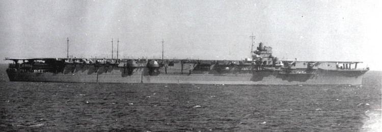 Japanese aircraft carrier Zuikaku ArchiveJapaneseNavalphotoshowingtheJapaneseaircraftcarrierZuikakuatseaNov194101jpg