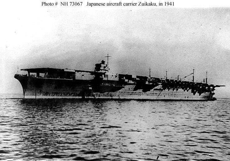 Japanese aircraft carrier Zuikaku Japanese Navy ShipsZuikaku Aircraft Carrier 19411944