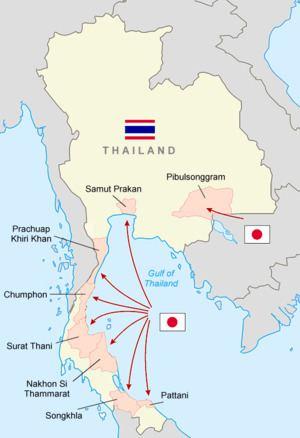 Japanese invasion of Thailand httpsuploadwikimediaorgwikipediacommonsthu