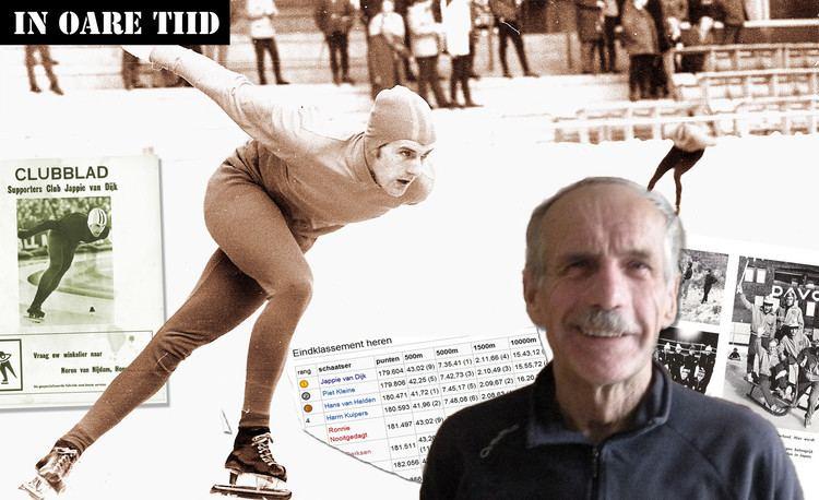 Jappie van Dijk Jappie van Dijk vergeten schaatskampioen Franeker Courant