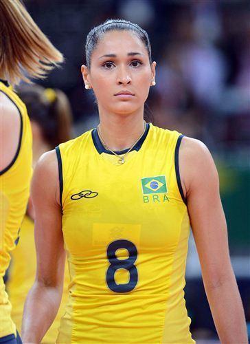 Jaqueline Carvalho Brazil Volleyball Player Tattoo Jaqueline Carvalho