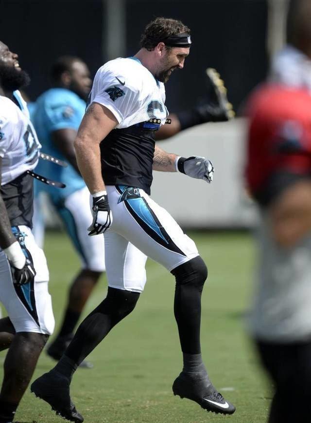 Jared Allen Jared Allens wild life leads him to Carolina Panthers Charlotte