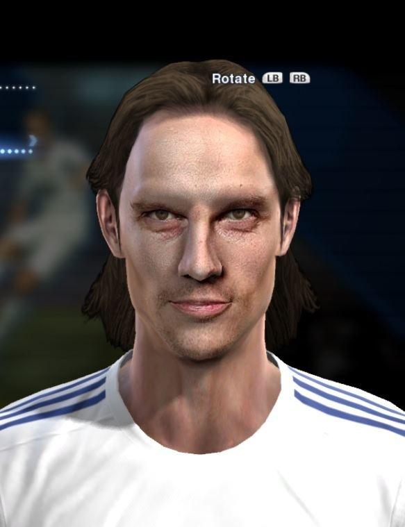 Jarkko Hurme Jarkko Hurme face for Pro Evolution Soccer PES 2013 made