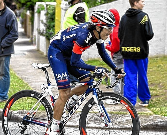 Jarlinson Pantano Jarlinson Pantano correr Tour de Francia con el IAM suizo