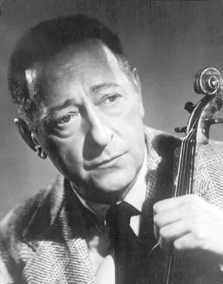 Jascha Heifetz World Harmony Society Paying tribute to violinist