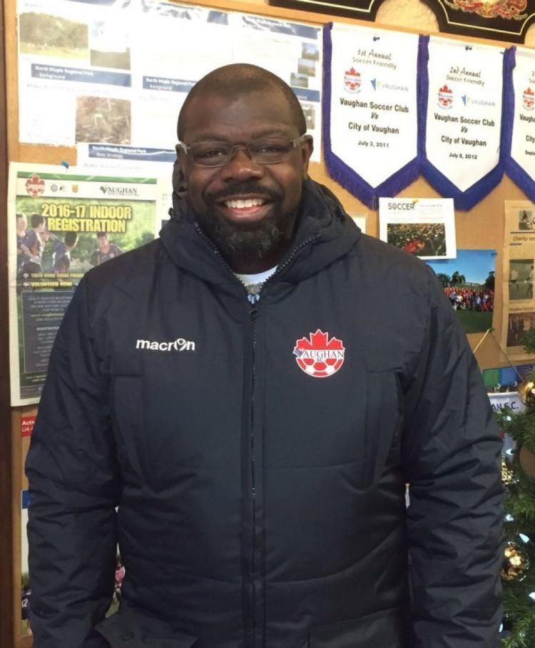 Jason Beckford Vaughan Soccer welcomes Jason Beckford as our Coaching Development